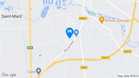 Les 3 Tilleuls Map