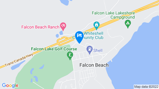 Falcon Lake Hotel Map