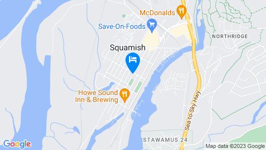 Hotel Squamish Map