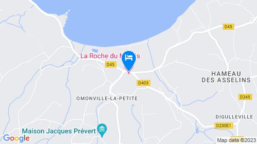 Hôtel La Roche du Marais Map