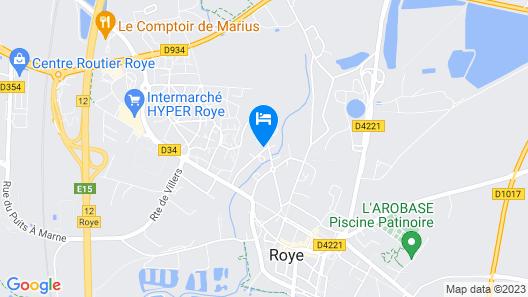 Aux Chambres du Roy Map