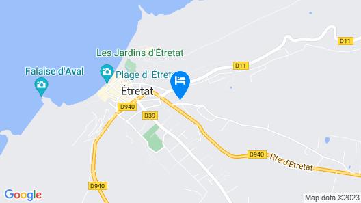 Domaine Saint Clair Le Donjon Etretat Map