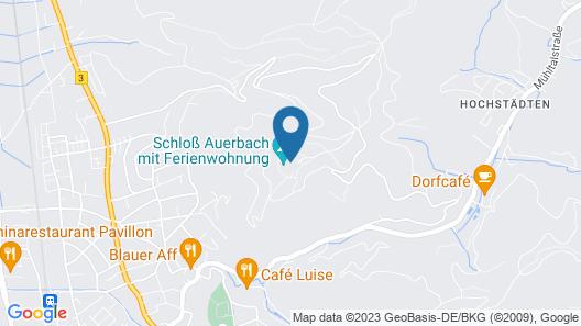 Ferienwohnungen auf Schloß Auerbach Map