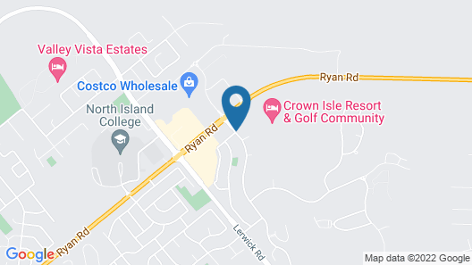 Crown Isle Resort and Golf Community Map