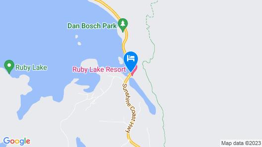 Ruby Lake Resort Map