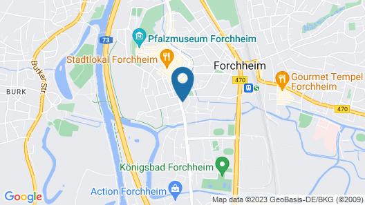 Hotel Plaza Forchheim Map