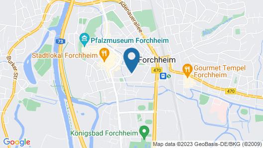 Townhouse - Das kleine Hotel Map
