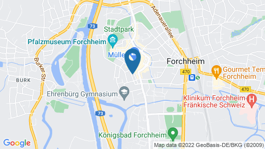 Haus Luitpold Map