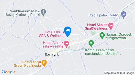 Hotel Elbrus Spa & Wellness Map