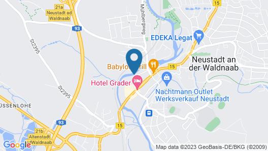 Ferienwohnung im DG mit Großem Garten und Zugang zur Waldnaab Map