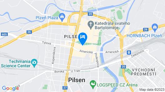 Hotel Slovan Map