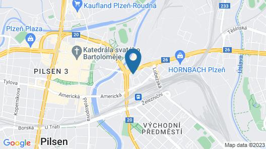 Vienna House Easy Pilsen Map