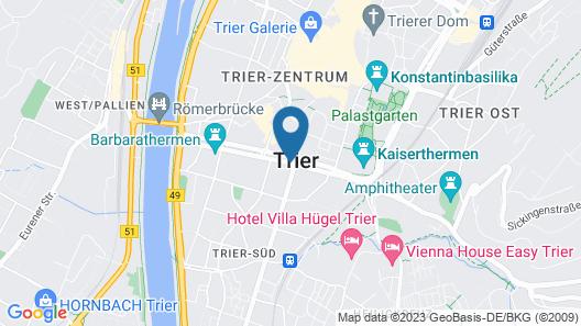 Hotel Deutscher Hof Map