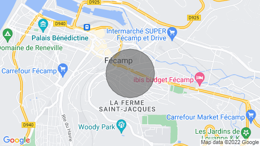 Semi-detached house, Fécamp Map