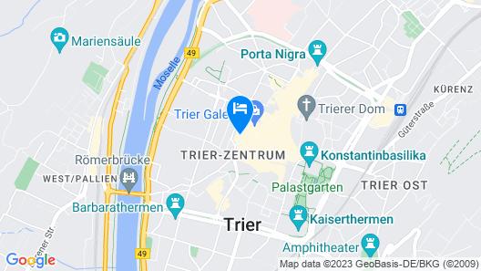 ibis Styles Trier Map