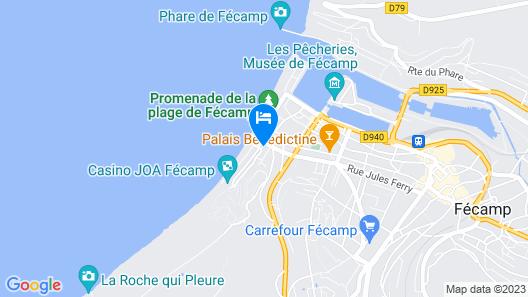 Hôtel D'angleterre Map