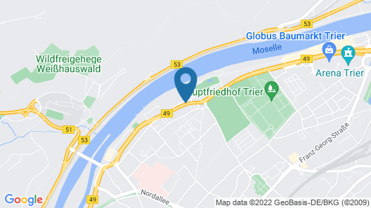 Holiday Inn Express Trier Map