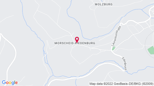 Family-friendly Apartments With sun Terrace, Petting zoo in the Hunsrück Map