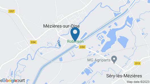 Parc de Loisirs Robinson Map