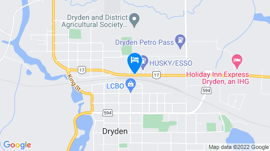 Best Western Plus Dryden Hotel & Conference Centre Map