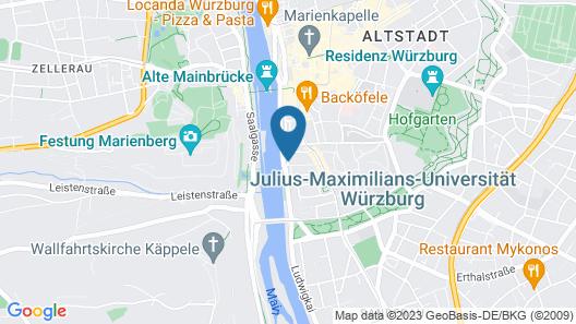 Hotel Walfisch Map