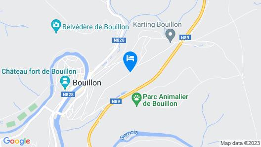 Auberge de Jeunesse de Bouillon Map