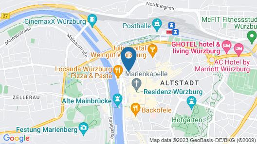 City Partner Hotel Strauss Map