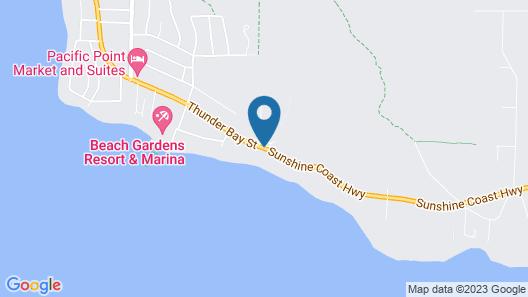 Seaside Villa Motel & RV Park Map