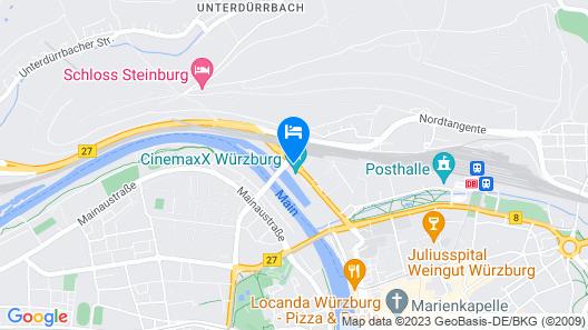 ibis Wuerzburg City Map