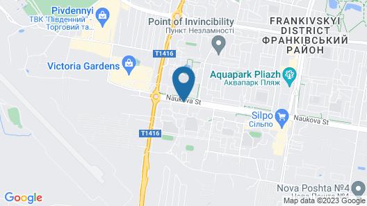 Urban Hotel Map