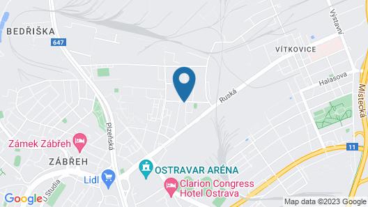 Apartmány Peřina Map