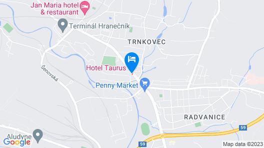 Hotel Taurus Map