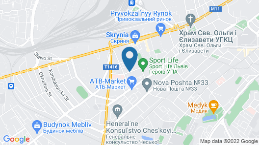 Nota Bene Hotel Map