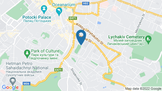 LH Hotel & SPA Map