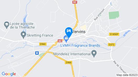 La Tour Du Roy Map