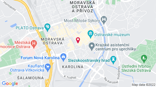 Imperial Hotel Ostrava Map