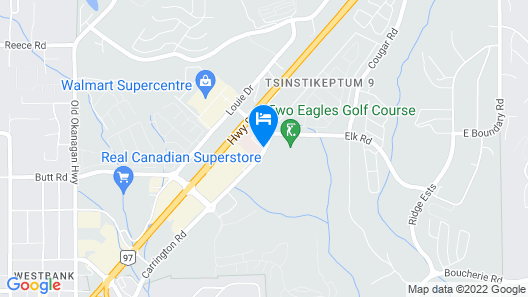 Best Western Plus Wine Country Hotel & Suites Map