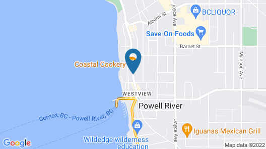 Westview Centre Motel Map