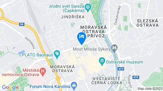 Mercure Ostrava Center Hotel Map