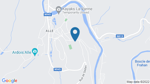 Modern Holiday Home in Vresse-sur-semois With Kayaking Map