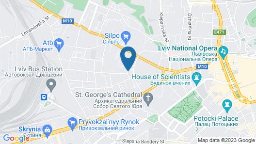 Taurus Hotel & SPA Map