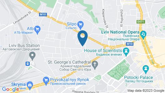 Fortuna Hotel Map