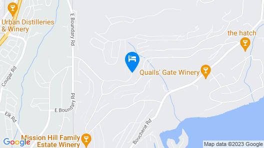 Mission Hill Lake View Villa  Map