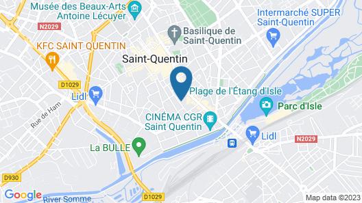 Trankil'apparts Centre 2 Map