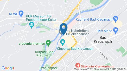 Hotel-Restaurant Mühlentor Map