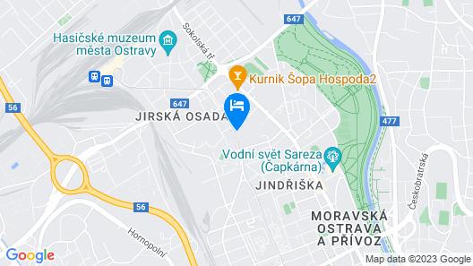Hotel Nikolas Map