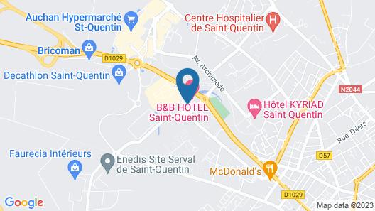 Premiere Classe Saint Quentin Map