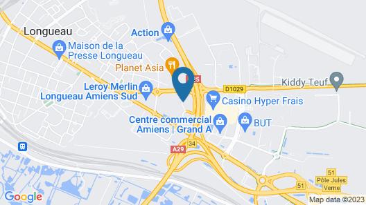 Première Classe Amiens Est - Glisy Map