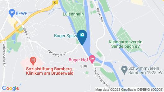 Hotel Café Lieb Map