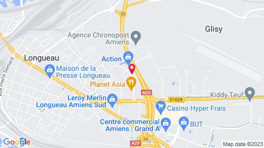 The Originals City, Tabl'Hôtel, Amiens (Inter-Hotel) Map